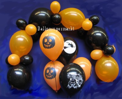 Halloween Ballondekoration