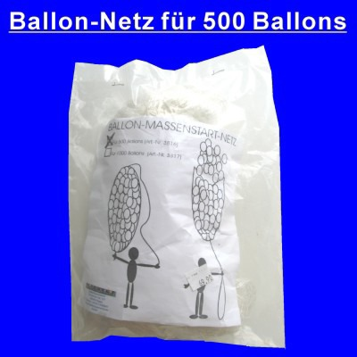 Ballonetz, Netz für 500 Luftballons