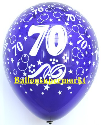 Zahlenluftballons-Geburtstag-70-Kristallfarben