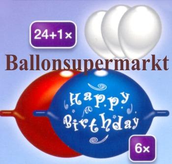 Geburtstag-Deko-Set-Luftballons