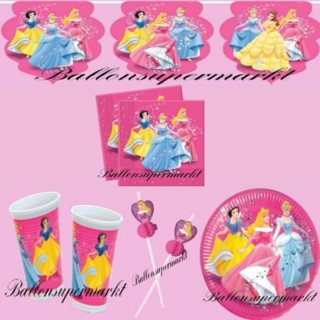 princess-partydekoration-kinder-set