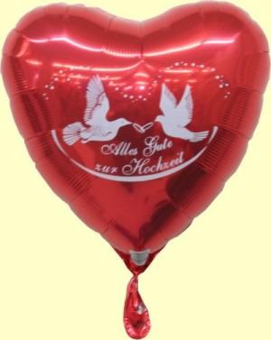 Ballons, Alles Gute zur Hochzeit
