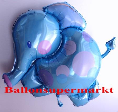Elefant Luftballon aus Folie