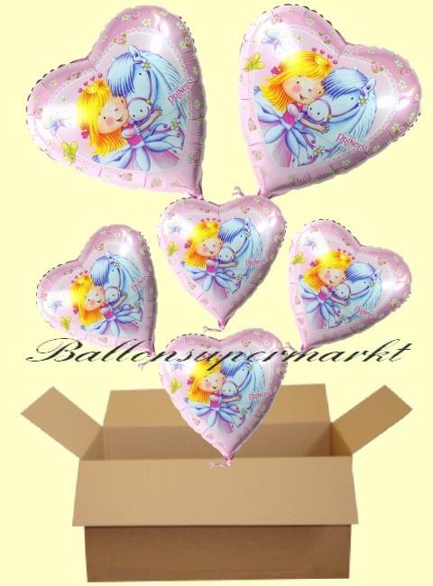 Sweet-Princess-Luftballons-Geschenke