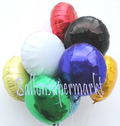 Folienballons-Rundballons-Dekoration