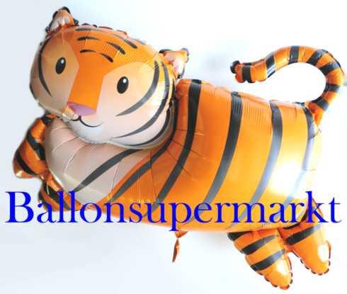 Tiger Ballon aus Folie