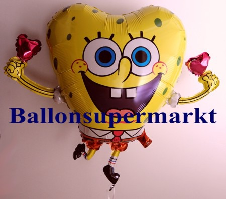 SpongeBob-Luftballon-aus-Folie