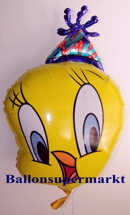 Tweety-Party-Luftballon-aus-Folie