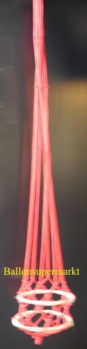 Rotes-Netz-Fesselballon
