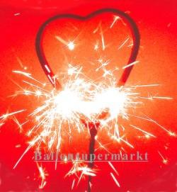 Wunderkerze Herz Love