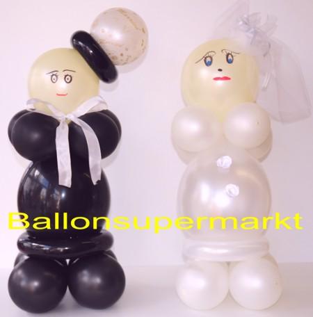 Dekoration-Hochzeit-Hochzeitspaar-aus-Luftballons-3