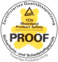 Luftballons Zertifikat, Tüv Empfehlung, Tüv-Siegel für nitrosaminfreie Herzluftballons