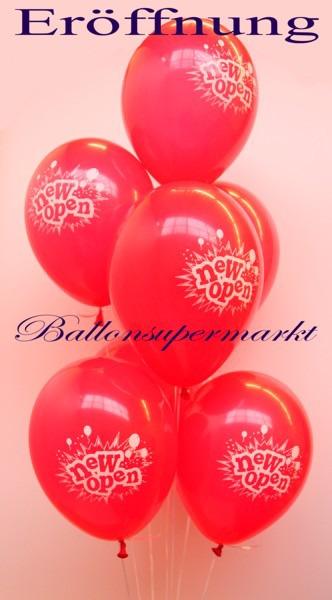 Luftballons-zur-Geschäftseröffnung