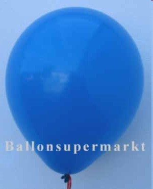 Luftballons-Blau-Latex-Rundballons
