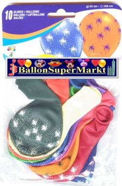 Motiv-Luftballons-Feuerwerk