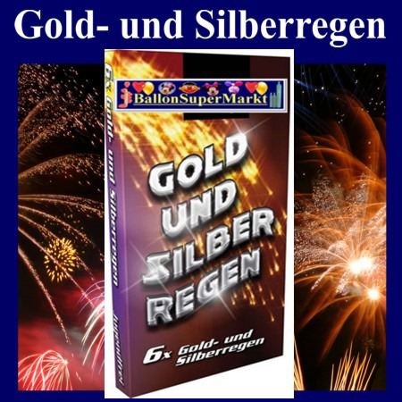 Feuerwerk-Gold-und-Silberregen