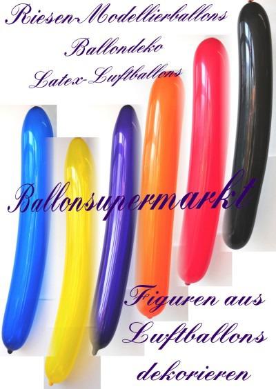 Riesige-Modellierballons-zur-Dekoration-Ballondekoration