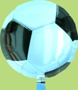 Fußball Dekoration