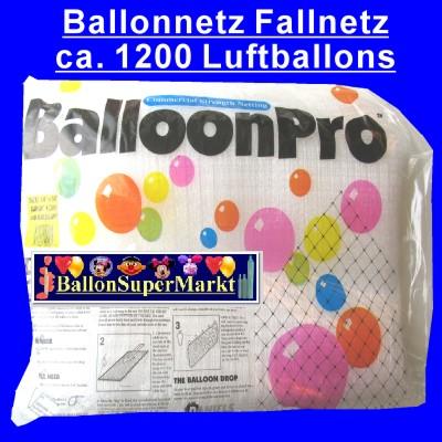 Ballonnetz, Fallnetz,