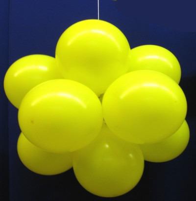 Luftballons: Ballonkugel, Luftballonkugel, Party und Festdekoration
