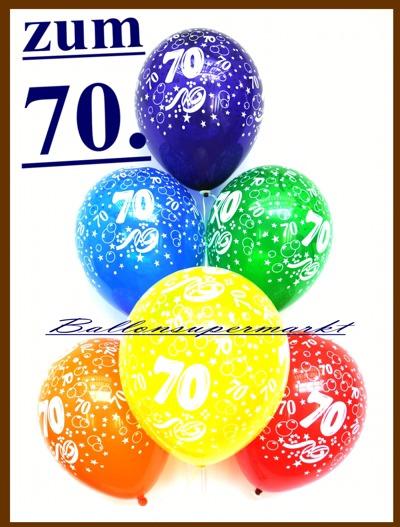 Luftballons-Zahl-70-zum-70.-Geburtstag