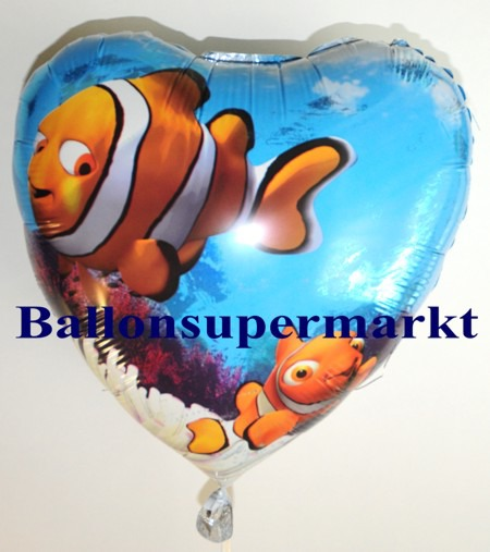 Luftballon-Nemo-under-the-Sea-Herzluftballon-aus-Folie