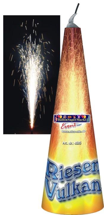 Feuerwerk Riesen-Vulkan, Hochzeit, Silvester, Party und Event mit Batteriefeuerwerk