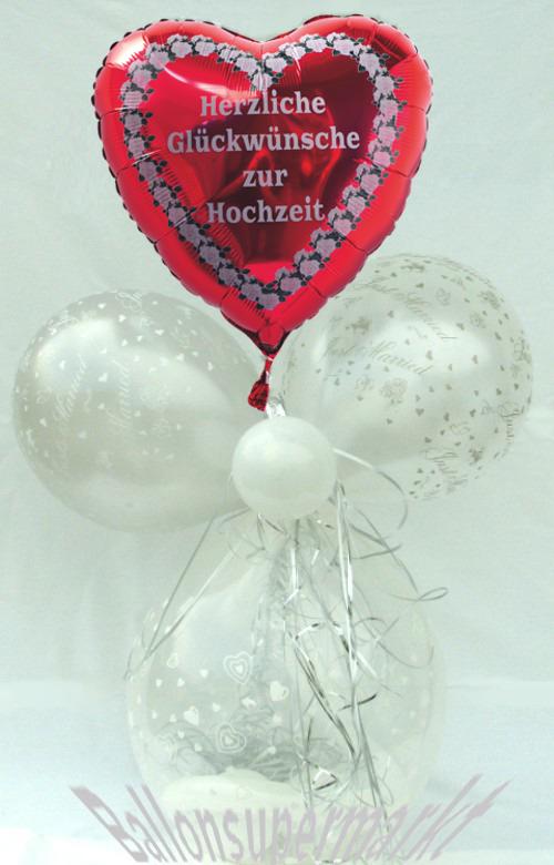 Hochzeit, Hochzeitsgeschenk, Geschenkballon