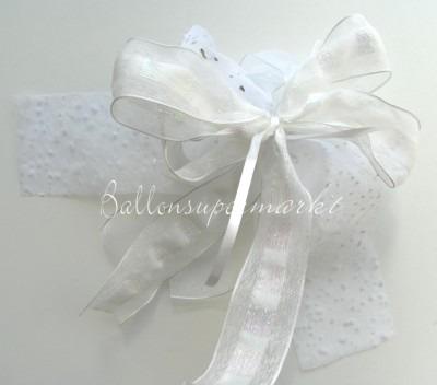 Zierschleife Hochzeit, Dekoration, Tischdekoration Hochzeit mit Hochzeitsschleifen