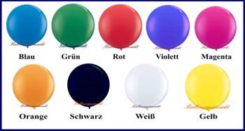 Riesenballons Werbung mit Riesenluftballons