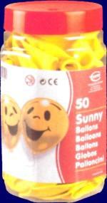 Luftballons Sunny