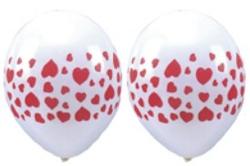 Luftballons mit Herzen