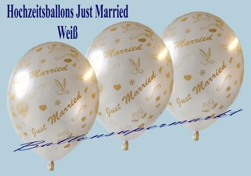 Just-Married-Hochzeitsballons-Latex-Luftballon-weiss