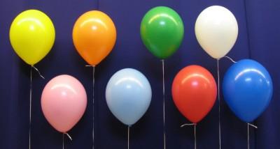 Luftballons 48 cm Partydeko, Ballondeko, Festdekoration