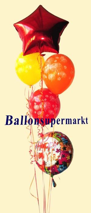 Ballon-Bouquet-Silvester-Helium-Luftballons