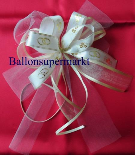 Hochzeitsdeko-Zierschleife-Hochzeitsringe