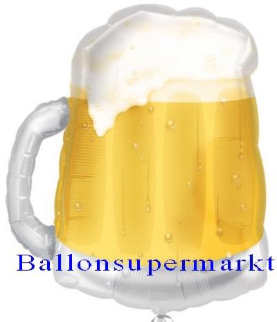 Bierkrug Luftballon