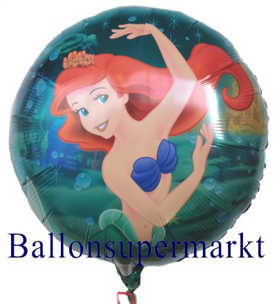 Arielle-Meerjungfrau-Walt-Disney-Luftballon-mit-Helium