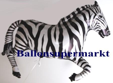 Zebra-Luftballon-aus-Folie