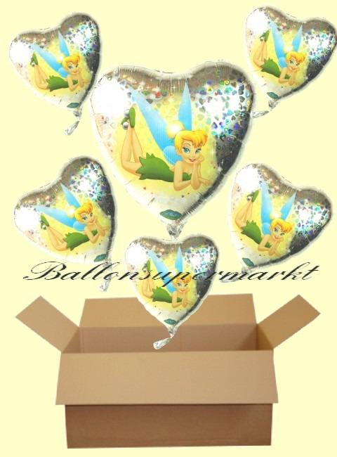 Tinkerbell-Holo-Luftballons-Geschenke