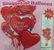 Luftballons der Liebe: Schenken zum Valentinstag
