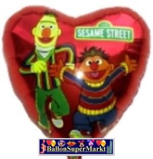 Folienballons Ernie und Bert Sesamstraße