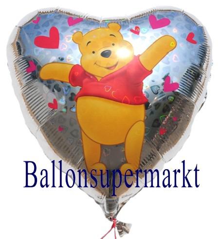 Herzluftballon-Puuh-der-Baer-holografischer-Luftballon-aus-Folie