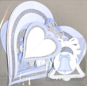 Dekoration Hochzeit Herzen Glocken