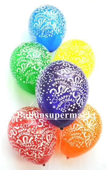 Luftballons-Geburtstag-Happy-Birthday-Kristallfarben