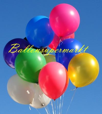Luftballontraube: Große Luftballons in 48 cm bis 51 cm