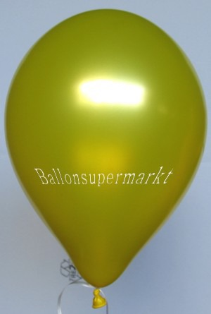 Luftballons Gold Metallic