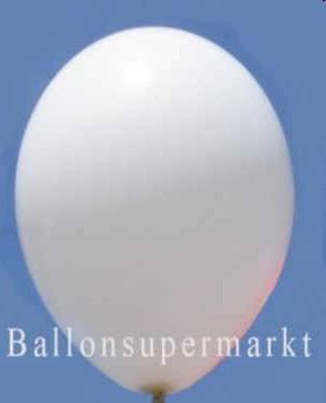Luftballons-Weiss-Latex-Rundballons