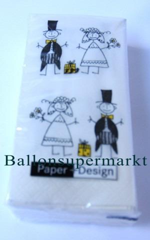 Hochzeits-Taschentuch