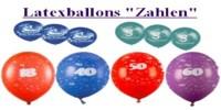Luftballons-Zahlen